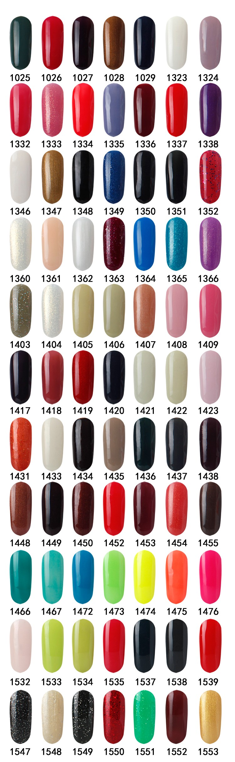 High Quality Factory Price Uv Color Soak Off Gel Nail Polish