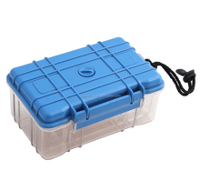 Equipment hard clear plastic carrying case