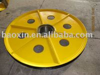 hot-rolled sheave for crane , port machine , oil drilling rig