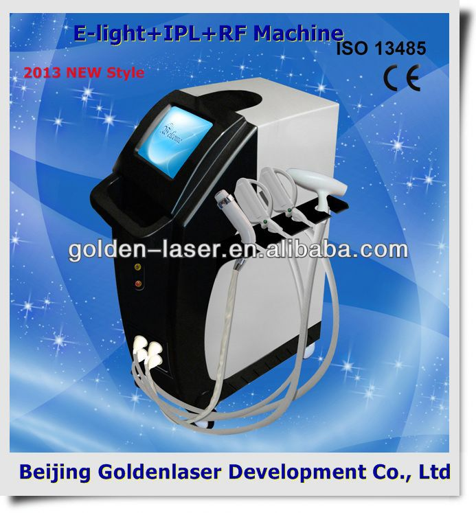 2013 New design E-light+IPL+RF machine tattooing Beauty machine hybrid rotary tattoo machine