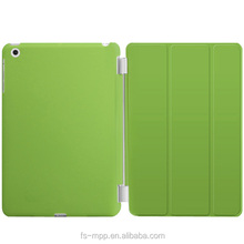 2015 Ultra Thin Magnetic green Smart Case Cover + Back Case For iPad mini