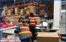 Bonded Warehouse Service for Hardware parts in Ningbo Shanghai of China