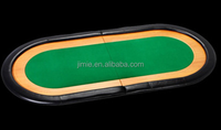 high quality 2 folding poker table top