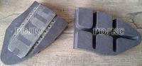 Brake Pads used for railway&transport&railway tank,hopper,flat,wagon&train&freight transport