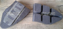 Brake Pads used for railway&transport&railway tank,hopper,flat,wagon&train&freight transport