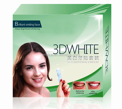 Personal Teeth Care CE 6% hydrogen peroxide High Quality 3d Teeth Whitening Strips