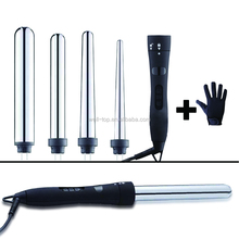 New styling tools Digital Ceramic Wave Hair Roller LCD Titanium Automatic Hair Curler steam spray magic curling iron