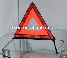 warning triangle with high quality and low price. car emergency tool