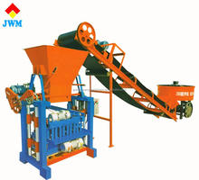 High output full automatic concrete block making machine/interlocking cement brick making machine price list in India