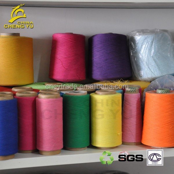 cheap price carded cotton dyed yarn