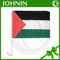 hot sale wholesale marketing 2015 new products advertising Palestine Car Flag