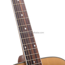 39 inch solid round back acoustic guitar guitar sale