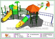 well made play structure amusement park playground equipment/slide, exciting tube