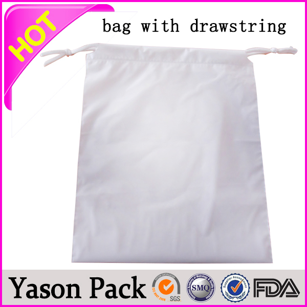 Yason personalized neon drawstring barrel bags drawstring gift pouch biohazard waste bag with drawstring