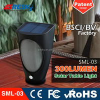 Portable Security Solar Powered Warning Led Lamp Light