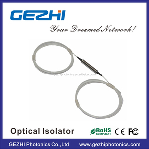 High Power 1x1 IN-LINE dual stage 1550nm fiber Optical Isolator