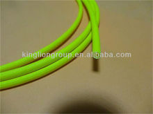 3.5mm yellow silicone fiberglass sleeving for household appliances
