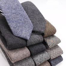 Mens Casual Wool Necktie