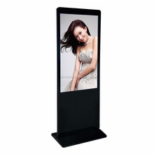 Nice looking 43 inch touch screen kiosk LCD advertising display Floor Standing AD Player
