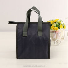 Plain cheap polyester wine tote cooler bag