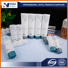 Various design disposable hotel toiletries shampoo and shower gel