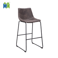 (Threet-H) Living room chairs lounge leisure relax bedroom Fabric bar Stool