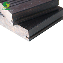 Black color outdoor click bamboo flooring