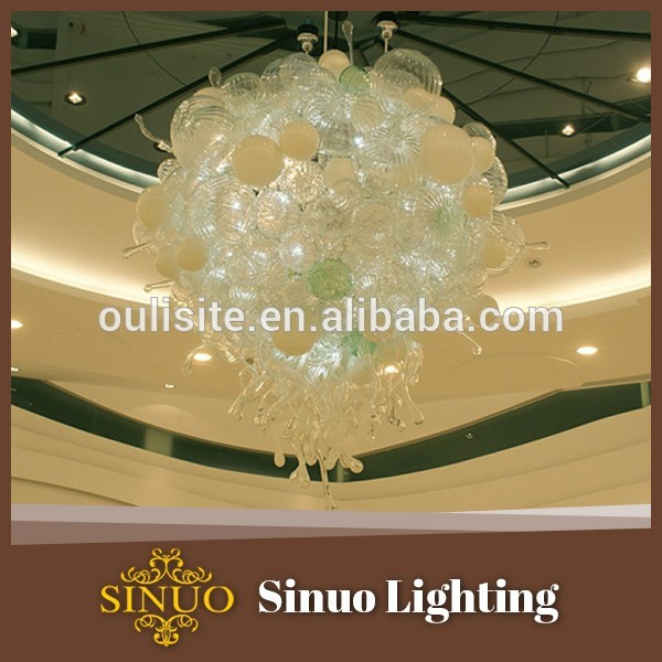 For living room glass chandelier famous blown glass artists