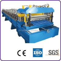 Glazed Aluminum Sheet Metal Roofing Rolls Forming Machine Prices