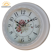 New Type Plastic Eco-friendly European Style Wall Clock