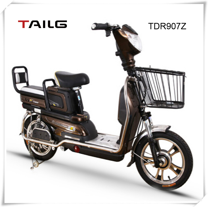 2015 dongguan tailing hot sale celectric moped for sale electric mopeds with basket