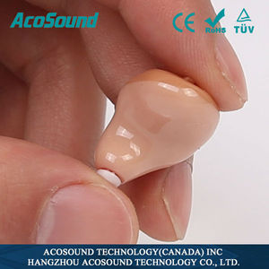 Eexcellent product economic AcoSound AcoMate 610 ITC custom-made hearing aids faceplate ITC /IIC