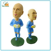 Custom high quality wholesale resin figurine sports bobblehead