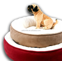 From direct China factory 2016 hot sale round pet bed for dog