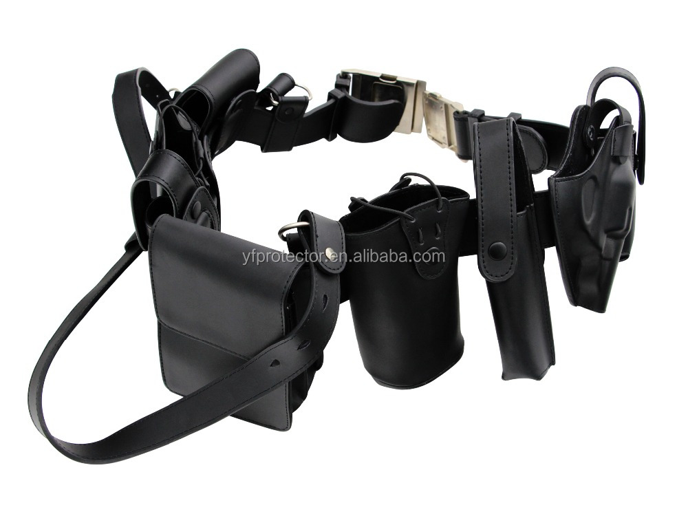 police belt/tactical duty belt/leather duty bel