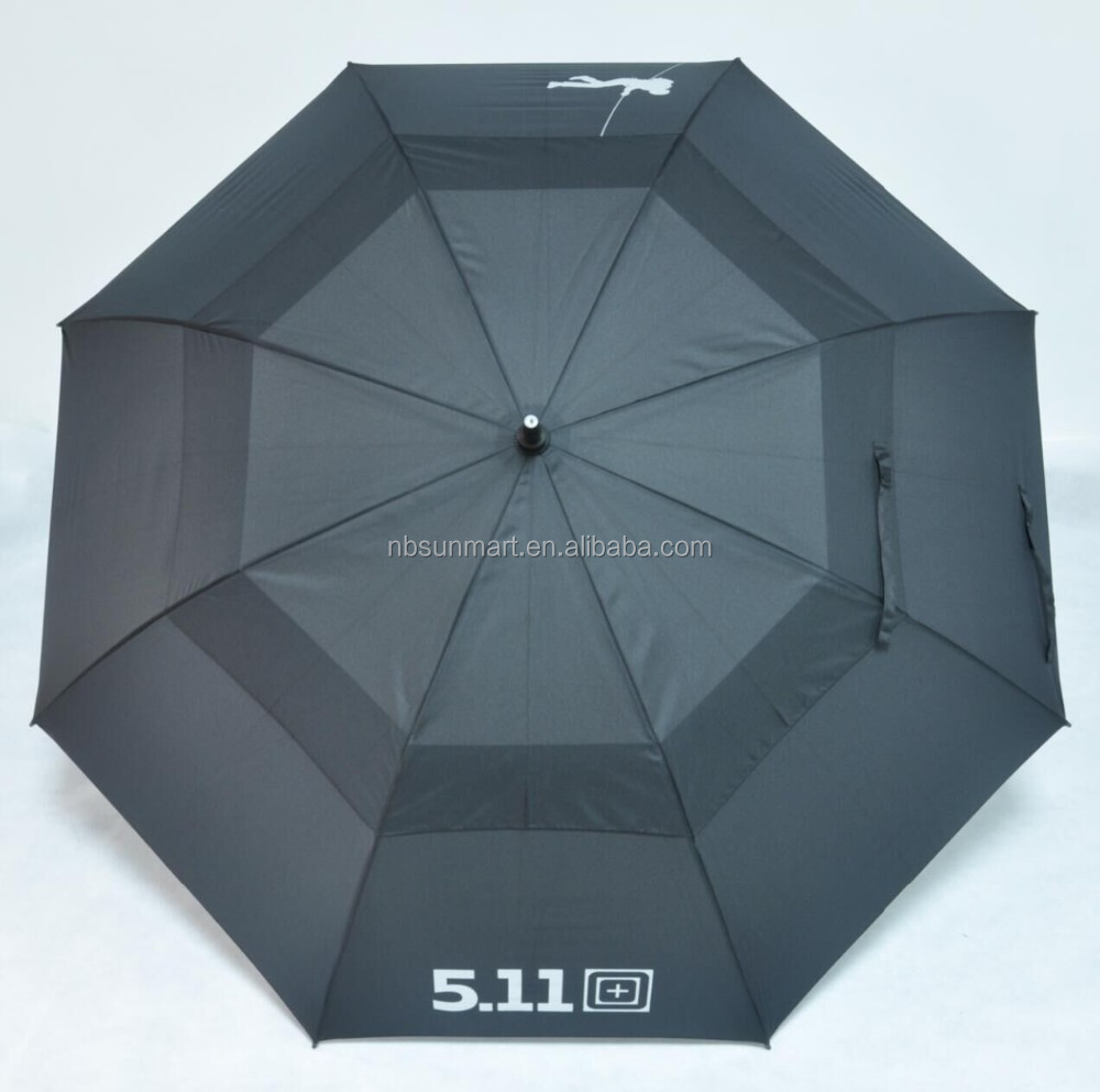 Vented Umbrella double layer golf umbrella winderproof