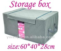 Bamboo fiber bedding storage box/clothing storage box