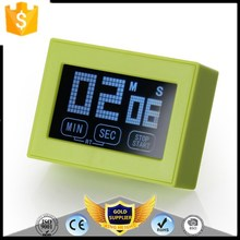 KH-0061 0-99 Minutes ABS LCD Digital Touch Screen Timer with Backlight Cooking Tools Kitchen Timer