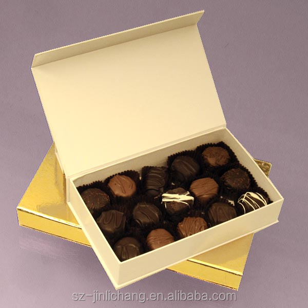 Paper food grade cardboard chocolate box