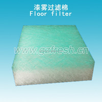 Air filter material fiberglass filter pad for spraybooth