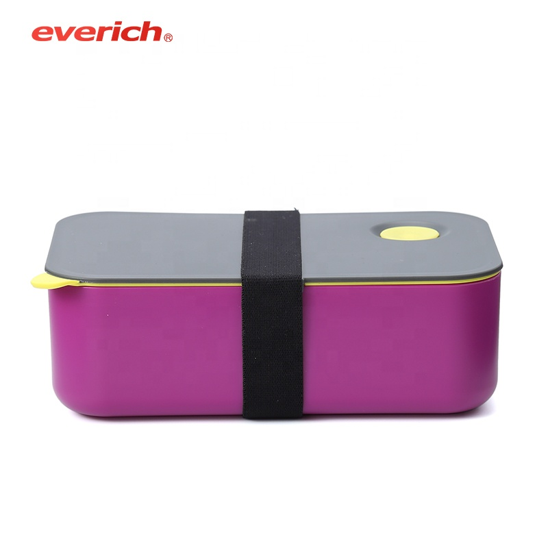 Kids school portable pp compartment lunch box food packaging <strong>plastic</strong>