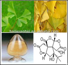 Ginkgo biloba extract Total Lactones 6% Flavone Glycosides 24%