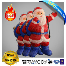 200l Hand Made Acrylic Santa Claus For Holiday of Christams