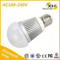 High Cost-Effective Hot Sale Factory Price E27 5W Led Globe Bulb / Epistar Led Bulb Lights