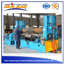W11S pre-bending Three roller aluminum sheet roll bender and mild steel hydraulic roll bedning machine