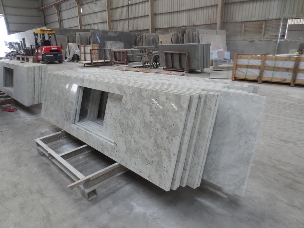 Sri lanka white kitchen granite countertop buy granite - Encimera granito blanco ...