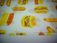 Print Logo Greaseproof Paper 32gsm