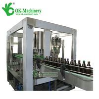 small business 4 head small beer aseptic filling machine/beer bottle filling and capping machine