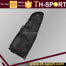 New Premium Wheeled Nylon Travel Flight Golf Bag
