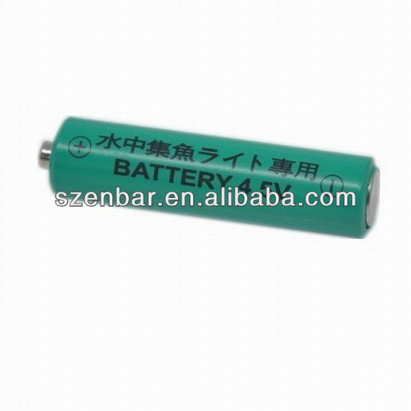 Blister Card 4.5v Alkaline battery for fishing lamp